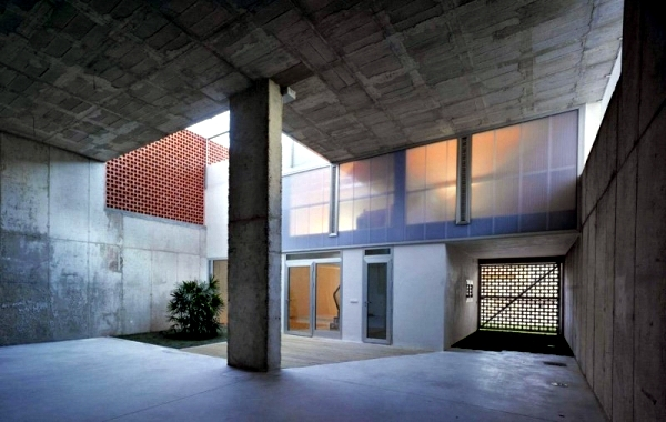 Contemporary Concrete House in Murcia, Spain Xpiral of Architecture