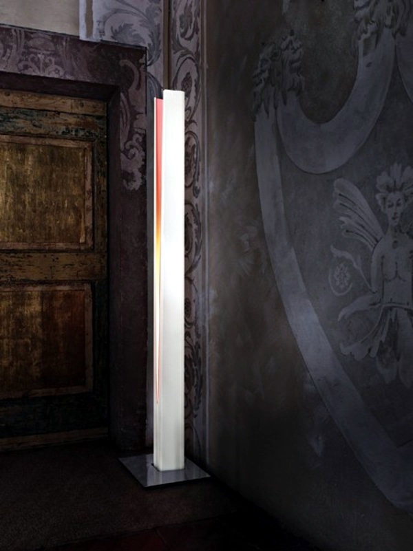Contemporary floor lamp from Nemo bring together art and lighting
