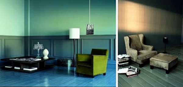 Contemporary floor lamps provide subtle lighting for your interiors