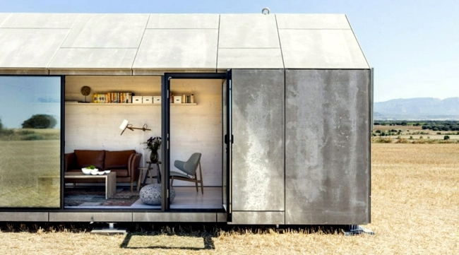 Contemporary prefab house shows the new trends in the ...