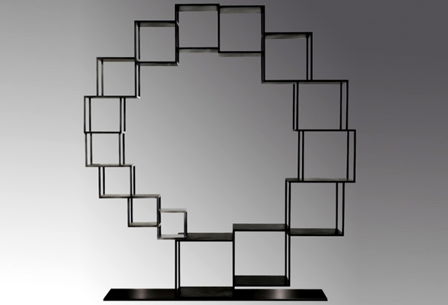 Contemporary shelf design inspired by the basic structures in nature