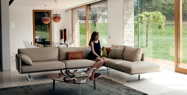 Contemporary upholstered furniture by Alpa Salotti sofa designs with feel-good factor