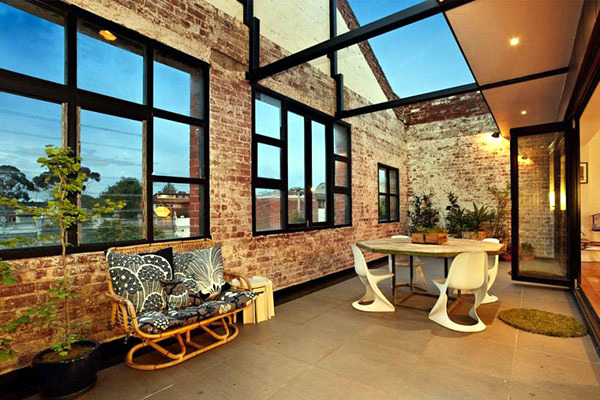 Converted warehouse in Melbourne