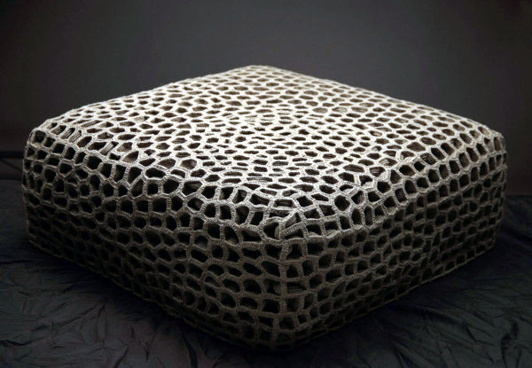 Cool Design furniture made of knitted by hand Monomoka