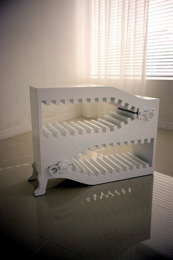 Cool Designer Furniture with zipper elements of The Zoom