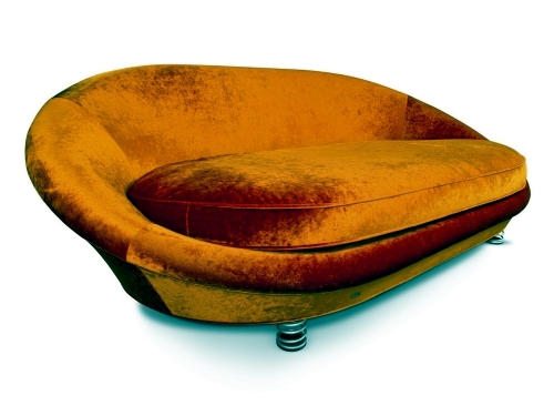 Cool designer sofas in vibrant colors of Bretz and Riva