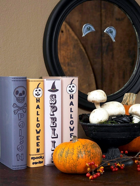 Craft ideas for Halloween, require neither time nor much money