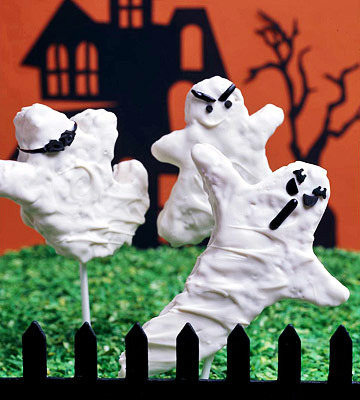 Crafts for Halloween - Sweet 19 decorations and ideas with ghosts