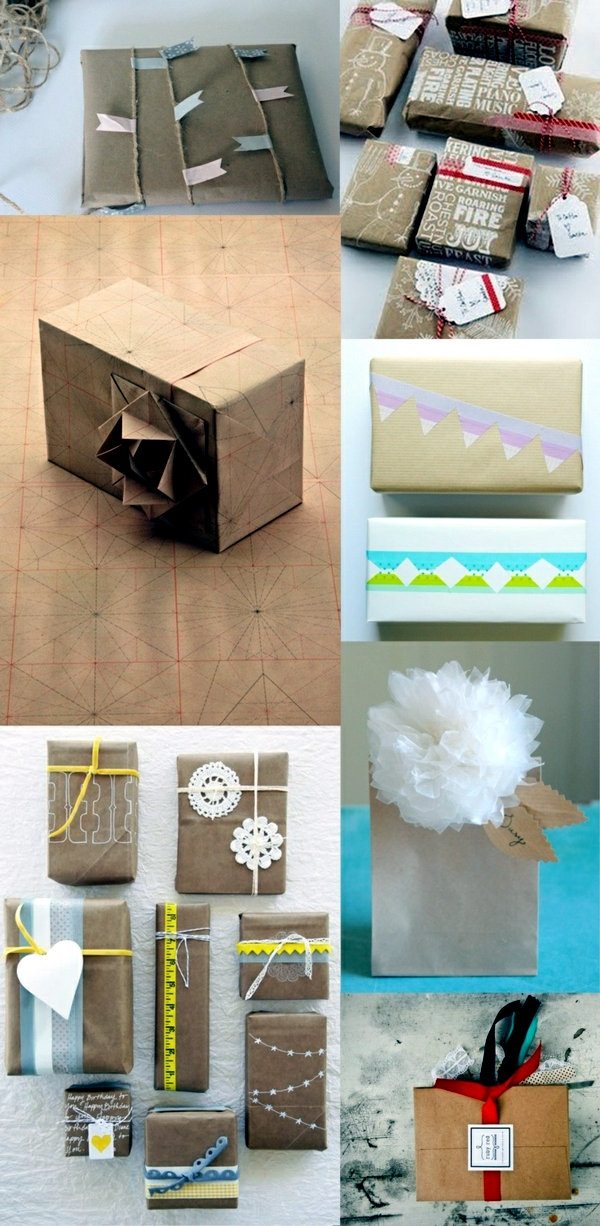 Crafts for Mother's Day - wrap gifts beautifully