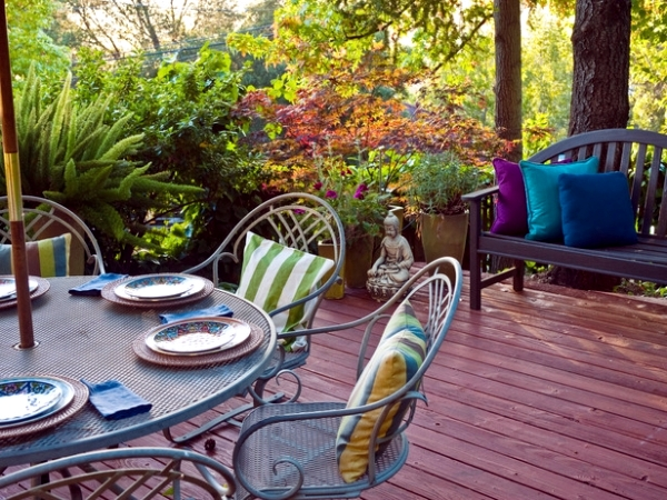 Create a cozy retreat in your own backyard and enjoy