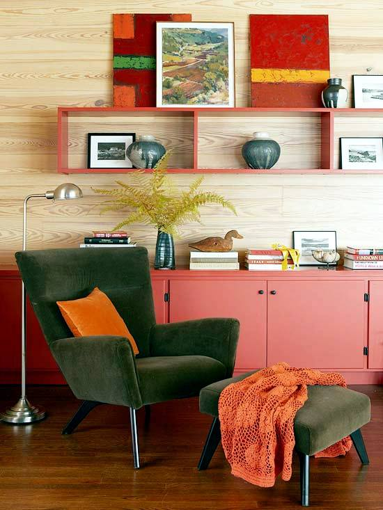 Create an autumnal atmosphere in the home - Autumn decoration for inside