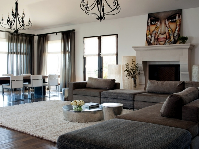 Create coziness at home - A soft carpet to feel