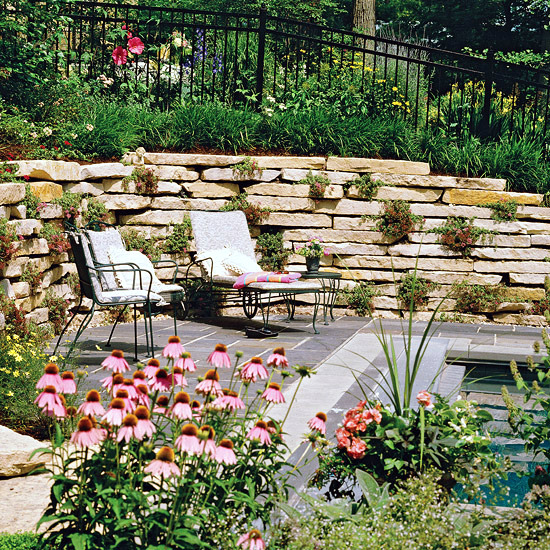 20 Sloped Backyard Design Ideas: Creating A Garden On A Slope Ideas And Optimal Solutions