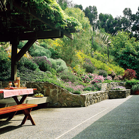 Creating a garden on a slope Ideas and optimal solutions for slope design