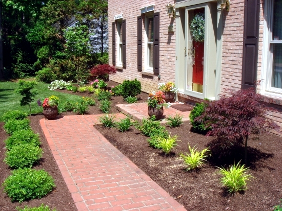 Exceptional Creating A Garden Path Advantages Of A Floor Covering Made Of Bricks And  Clinkers