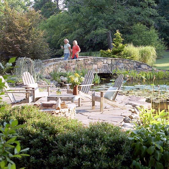 Creating a garden pond new - Tips for successful water garden remodeling