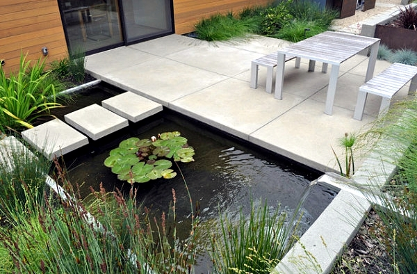 ... Ideas For Modern Garden Design. Garden Pond ?
