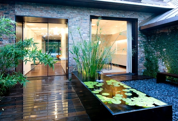 Creating a garden pond original ideas for modern garden design