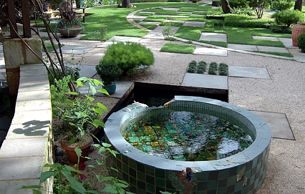 Creating a garden pond original ideas for modern garden for Modern garden pond designs