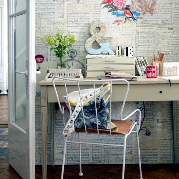 Creative Home Office Furniture - 20 Ideas for unique interior