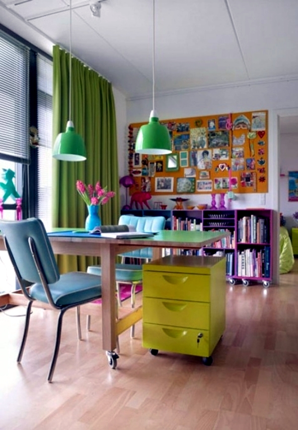 Creative home office furniture 20 ideas for unique Creative home office design