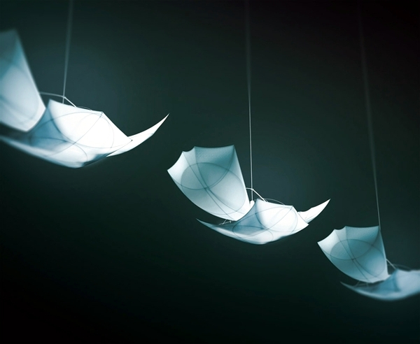 Creative lamp design was ispiriert myth of Icarus and Daedalus