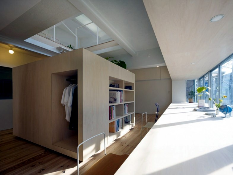 Cube Shaped House In Tokyo Interior Design Ideas Ofdesign