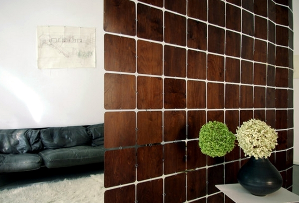 Curtain and room divider systems from high-quality woods from ...