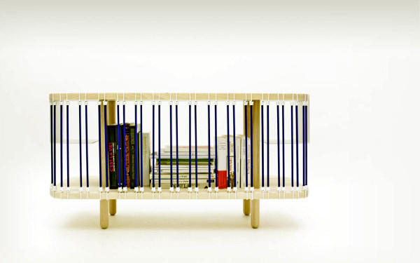 Customizable design sideboard in beech wood of Political