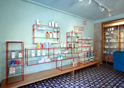 De los Austrias Pharmacy, Stone Designs, Madrid