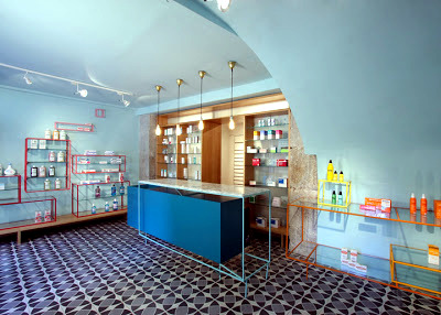 De los Austrias Pharmacy, Stone Designs, Madrid