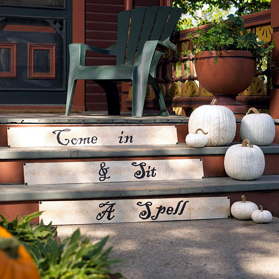 Decorate the house for Halloween - Creepy ideas for making your own