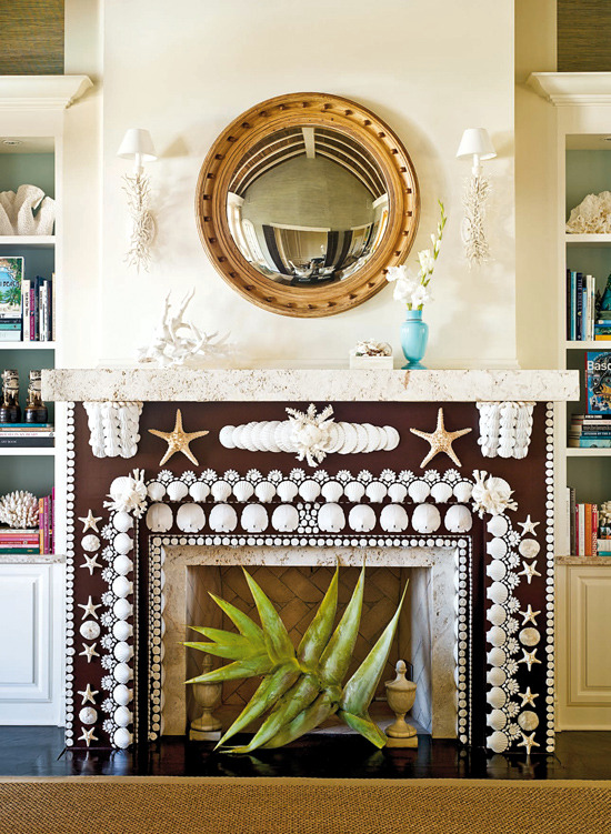 Decorate The Unused Fireplace In Living Room 20