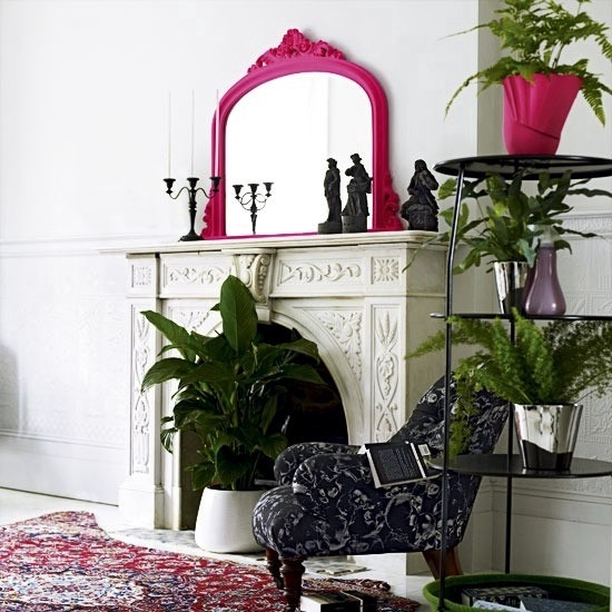 Decorate The Unused Fireplace In The Living Room