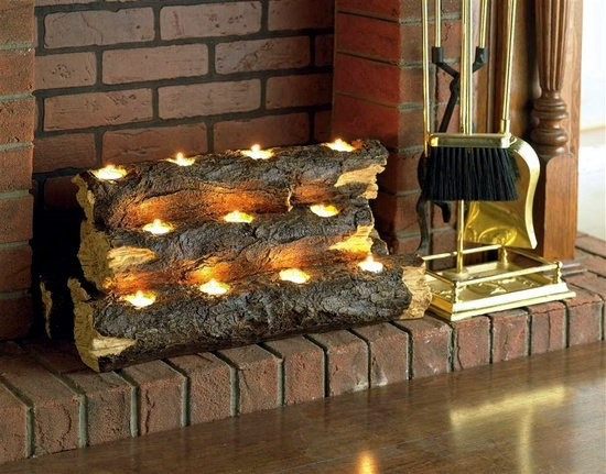 Decorate the unused fireplace in the living room – 20 creative ...