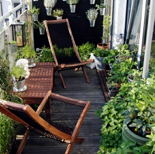 Decorating Balcony With Flowers In Spring Cheap Design