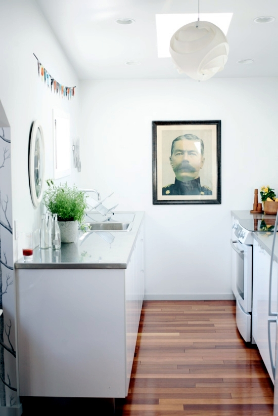 Decorating ideas for small apartment by Tamar Rosenberg