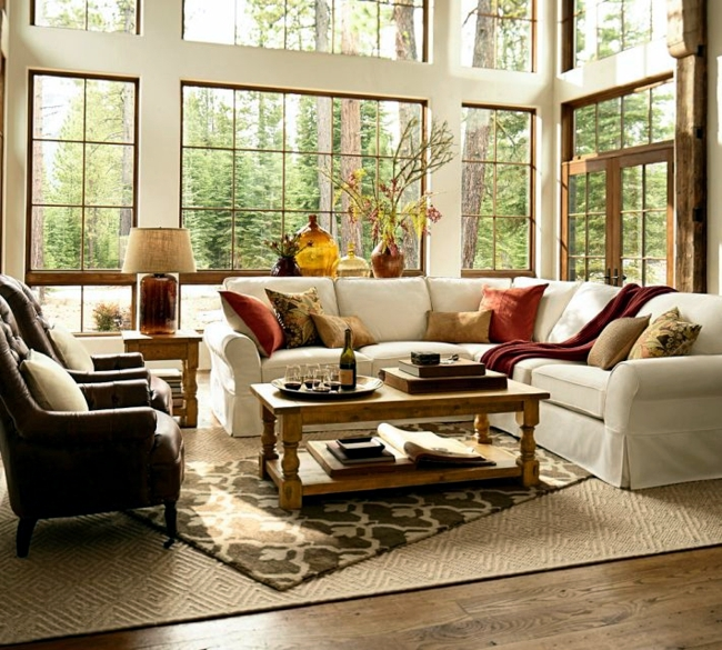 Decorating ideas with textiles - create cozy atmosphere at home!