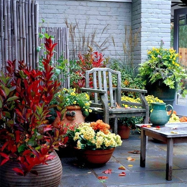 Decorating In The Fall   40 Ideas For Autumn Atmosphere Outdoors