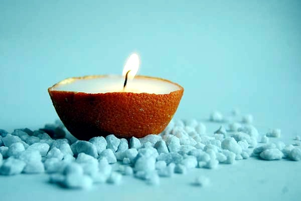 Decoration with candles