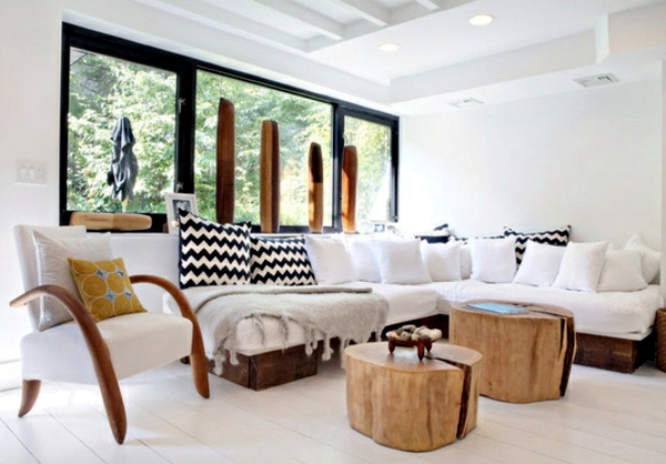 Decoration and furniture design in wood for a charming ambiance