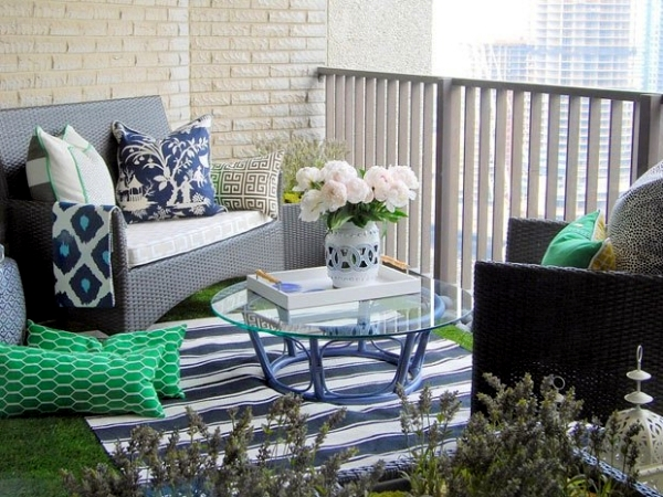 Decoration for balcony and balcony table 15 ideas for - Large balcony decorating ideas ...