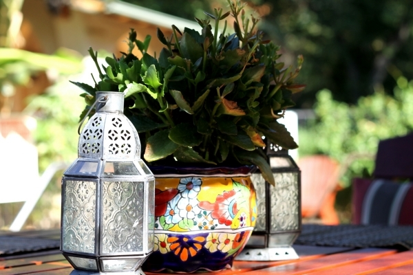 Decoration for balcony and balcony table - 15 ideas for cozier ambience