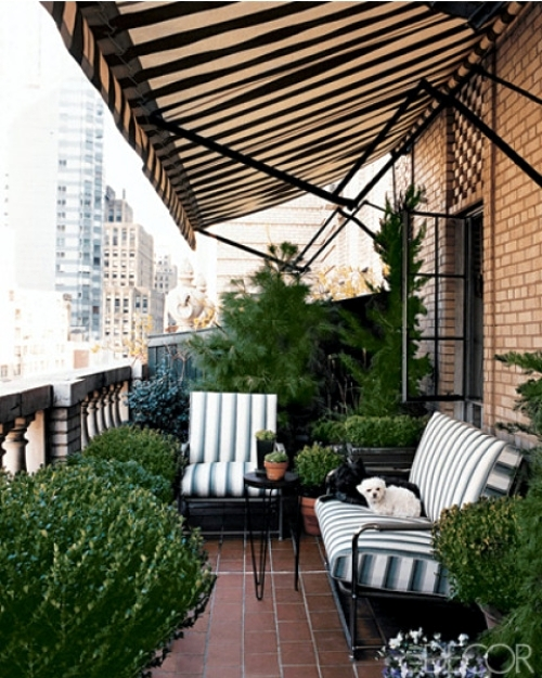Decoration ideas for balcony and terrace - 20 opportunities for facility