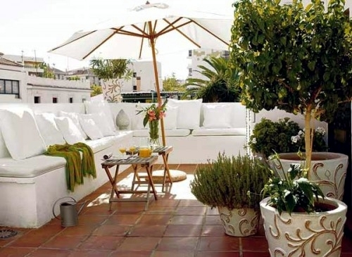 Decoration ideas for balcony and terrace – 20 opportunities for ...