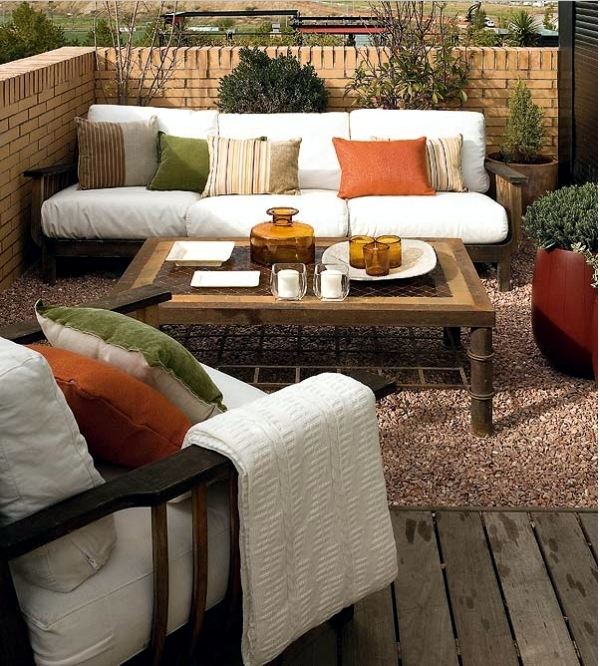 Decoration ideas for balcony table – set up the patio at home nice ...