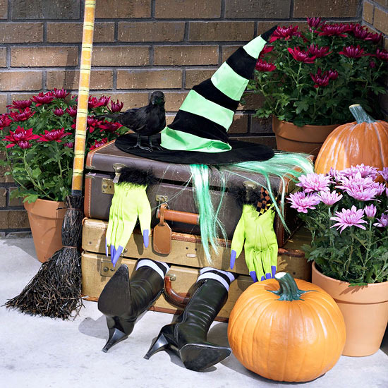 Decoration Ideas For Halloween Party With Witches