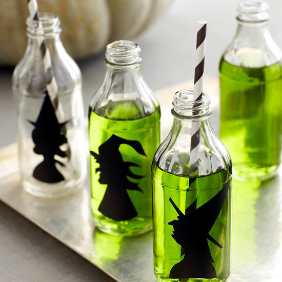 Decoration ideas for Halloween party with witches - create a witchu0027s house & Decoration ideas for Halloween party with witches u2013 create a witchu0027s ...