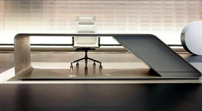 Delight customers with stylish furniture 17 office desk for Table design for office