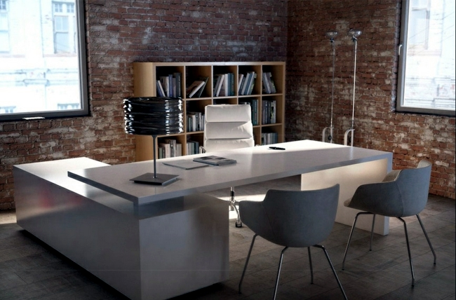 Delight customers with stylish furniture - 17 office desk designs